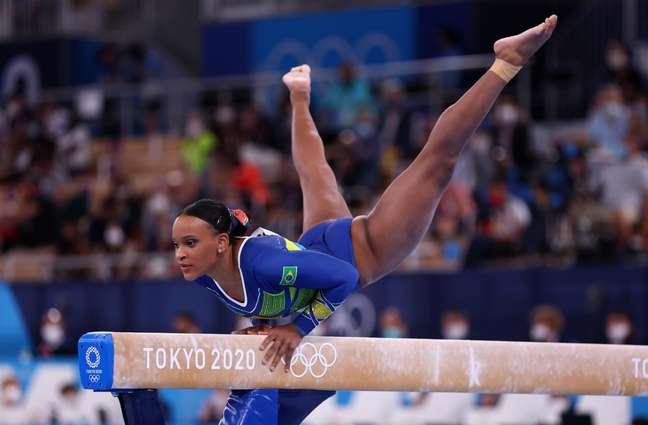 Rebeca Andrade foi a primeira ginasta do Brasil a ganhar medalha olímpica