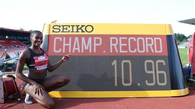 Nos 100m femininos, a barreira dos 11 segundos também foi quebrada com mais frequência