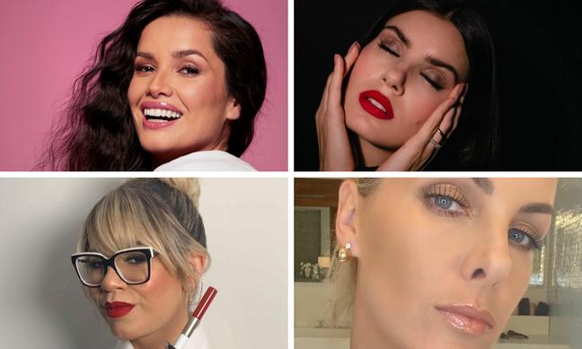 Batons das famosas (Fotos: Instagram/Reprodução)