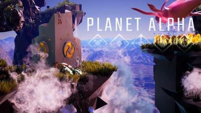 Tente não se perder no vasto mundo de Planet Alpha