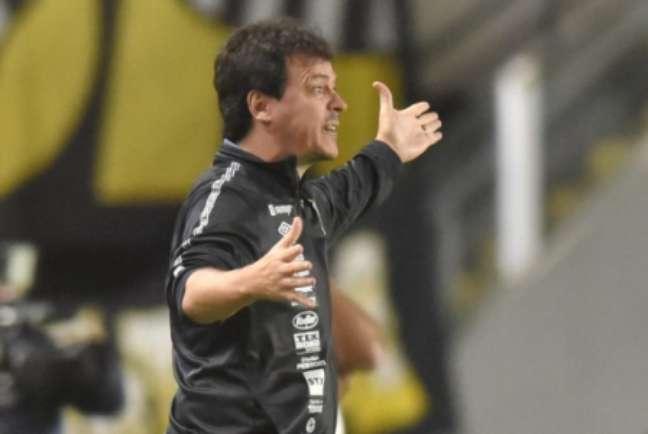 Diniz falou após a goleada santista (Foto: Ivan Storti/Santos FC)