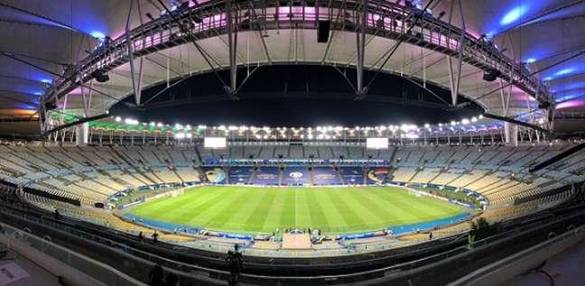 Maracanã recebeu público na final da Copa América (Foto: Reprodução / Twitter: Maracanã)
