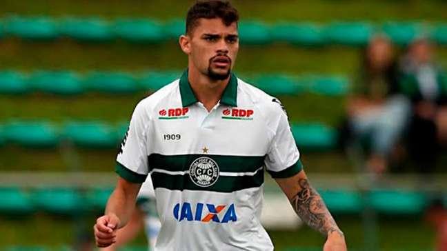 IO atacante Pablo Thomaz vai reforçar o Santos (Foto: Divulgação/Coritiba)