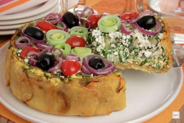 Guia da Cozinha - Torta sem massa com batata chips