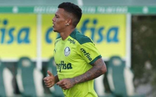 GabrielVeron está de volta ao Palmeiras (Foto: Cesar Greco/Palmeiras)