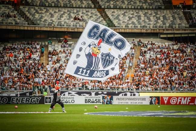 O alvinegro quer o retorno da Massa no duelo contra o River Plate- (Bruno Cantini/Atlético-MG)