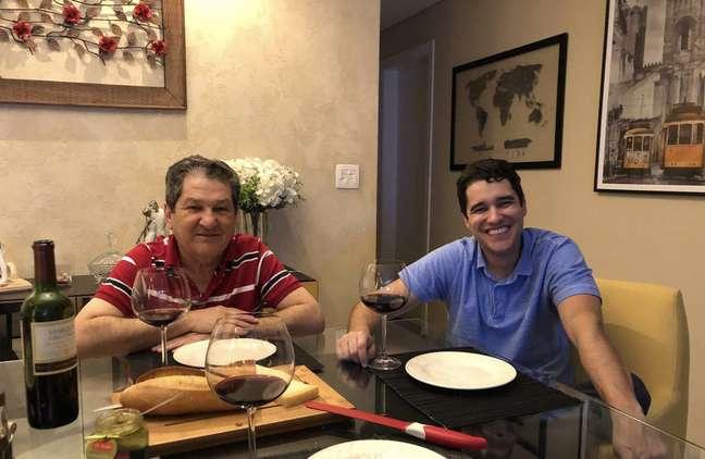 Edson e Daniel Lamounier