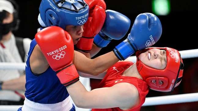 Graziele Sousa perdeu para a japonesa Tsukimi Namiki nesta quinta-feira em Tóquio Luis Robayo/Reuters
