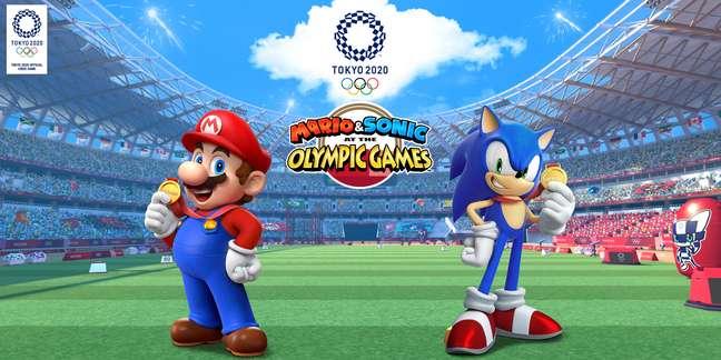 Mario & Sonic At The Olympic Games trazem os personagens mais famosos do mundo gamer em competições esportivas.