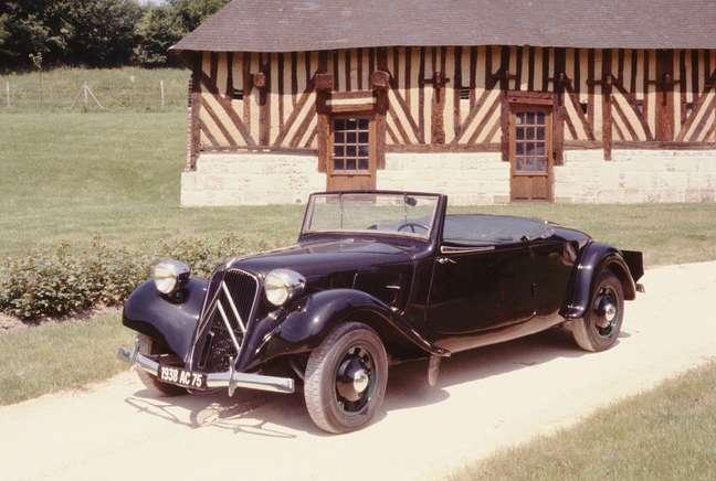 Citroën Traction Avant Cabriolet 1938.