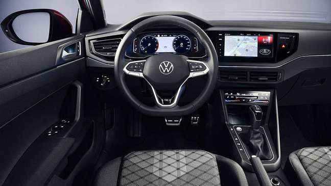 Volkswagen Taigo: painel digital de 10,25'' e nova multimídia.