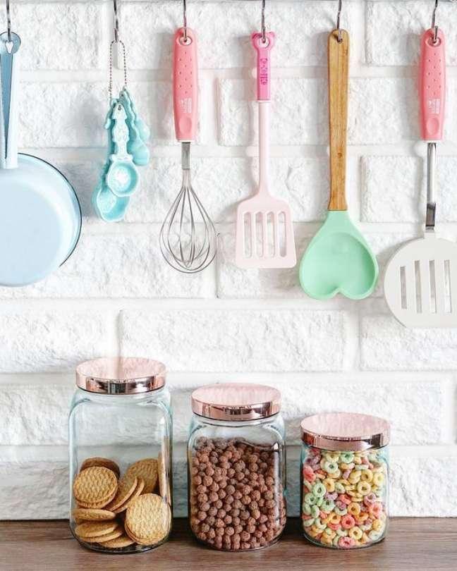 20. Lista de utensílios de cozinha simples – Foto Pinterest