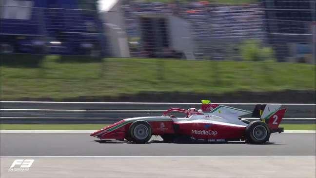 Arthur Leclerc é pole na Hungria