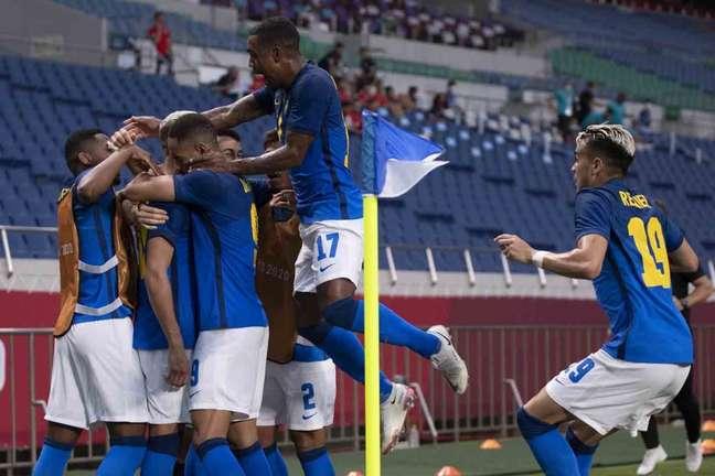 Brasil foi líder do Grupo D na primeira fase (Lucas Figueiredo/CBF)