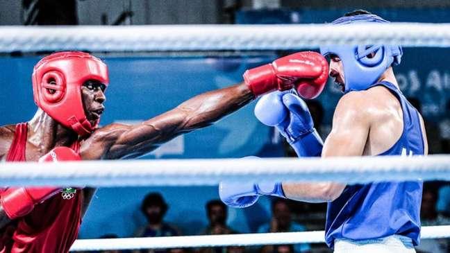 Keno Marley foi derrotado por 3 a 2 na decisão da arbitragem (Pedro Ramos/rededoesporte.gov.br)