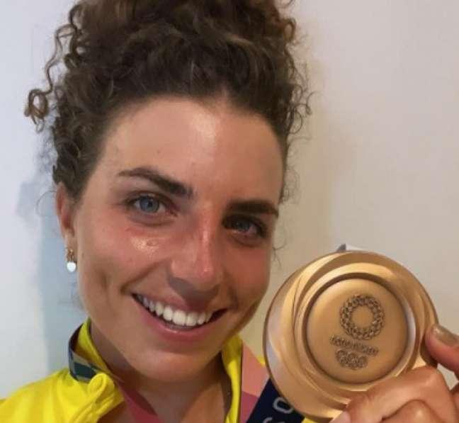 Jessica Fox venceu o bronze (Foto: Reprodução)