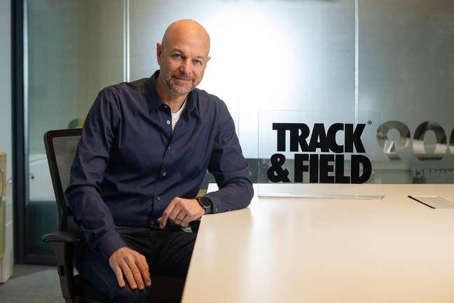 Fred Wagner, cofundador e presidente da Track&Field