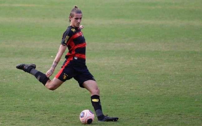 Maidana ficou pouco mais de uma temporada no Sport e volta a ser jogador do Atlético-MG-(Foto: Divulgação/Sport)