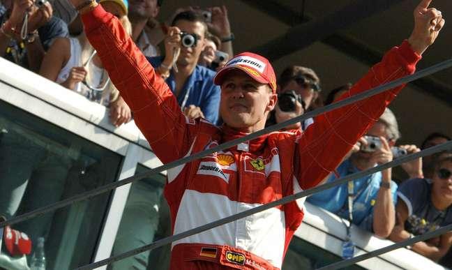 Michael Schumacher entrou para a história da Fórmula 1 como um dos maiores