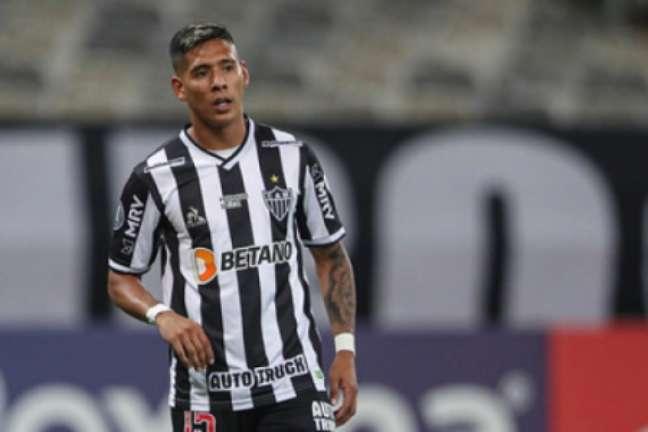 Zaracho tem vivido seu melhor momento no Galo desde que chegou ao clube, em 2020-(Pedro Souza/Atlético-MG)