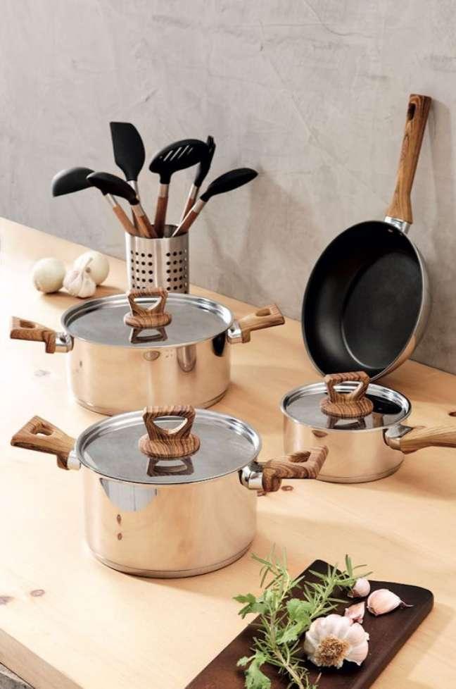 3. Lista de utensílios para cozinha moderna – Foto Angeloni