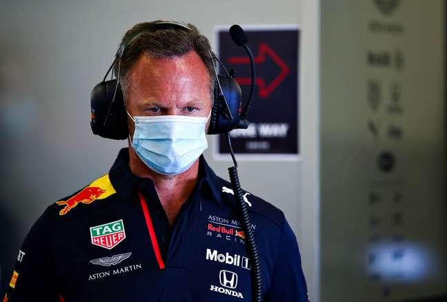 Christian Horner afirmou que reação seria igual mesmo com outro piloto