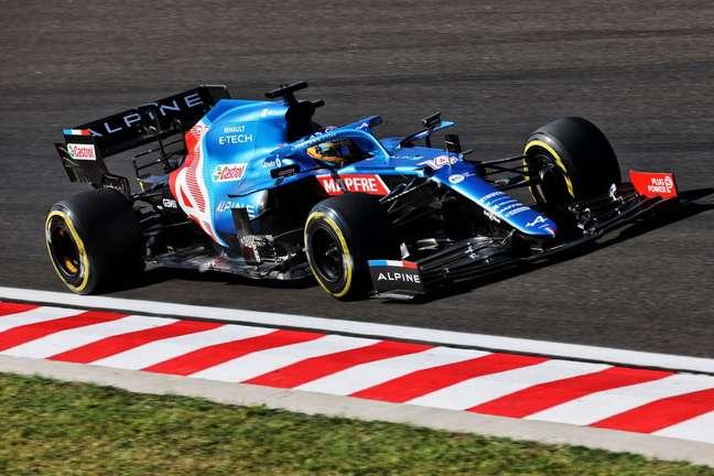 Alonso foi o sétimo colocado no TL2