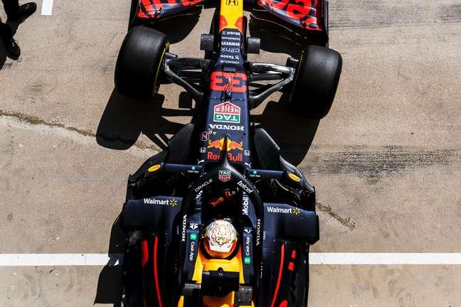 Max Verstappen registrou o terceiro melhor tempo do dia em Hungaroring