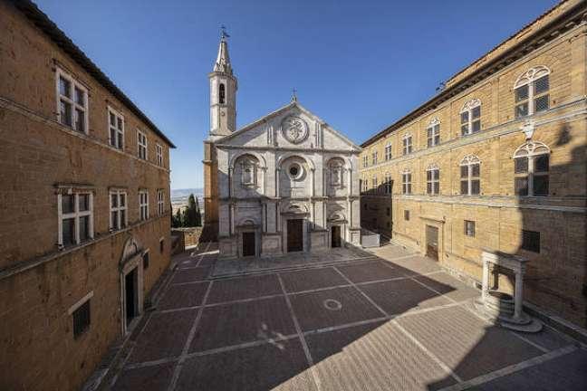 Centro histórico de Pienza é Patrimônio Unesco desde 1996