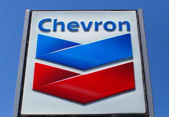 Logo da Chevron  REUTERS/Mike Blake