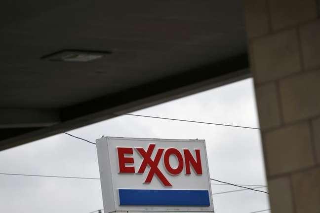 Logo da Exxon em Houston 30/4/2019  REUTERS/Loren Elliott