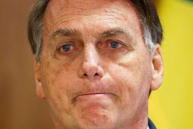 Bolsonaro em evento em Brasília 30/7/2021  REUTERS/Adriano Machado