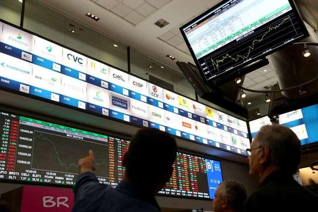 Bolsa de valores de São Paulo (SP)  25/07/2019 REUTERS/Amanda Perobelli