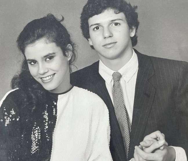 A socialite Narcisa Tamborindeguy e o diretor de televisão Boninho, que foram casados por três anos
