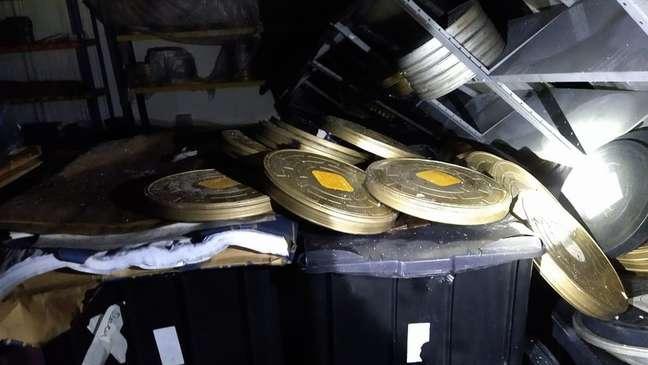 Rolos de filmes registrados por bombeiros que foram apagar incêndio da Cinemateca, quinto sofrido pela instituição
