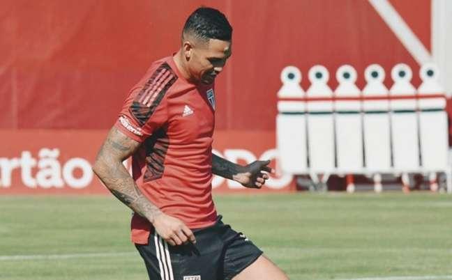 Luciano não deve jogar contra o Palmeiras neste sábado (Foto: Erico Leonan / saopaulofc)