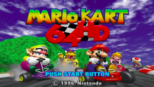 Mario Kart 64, agora em 4K