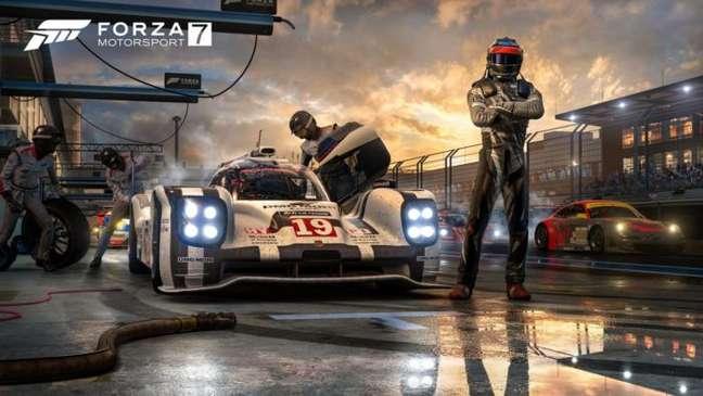 Microsoft dá adeus a Forza Motorsport 7