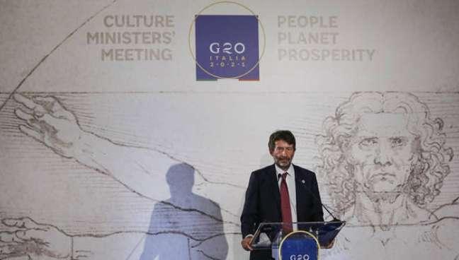 G20 da Cultura aprovou Declaração de Roma, informou Franceschini