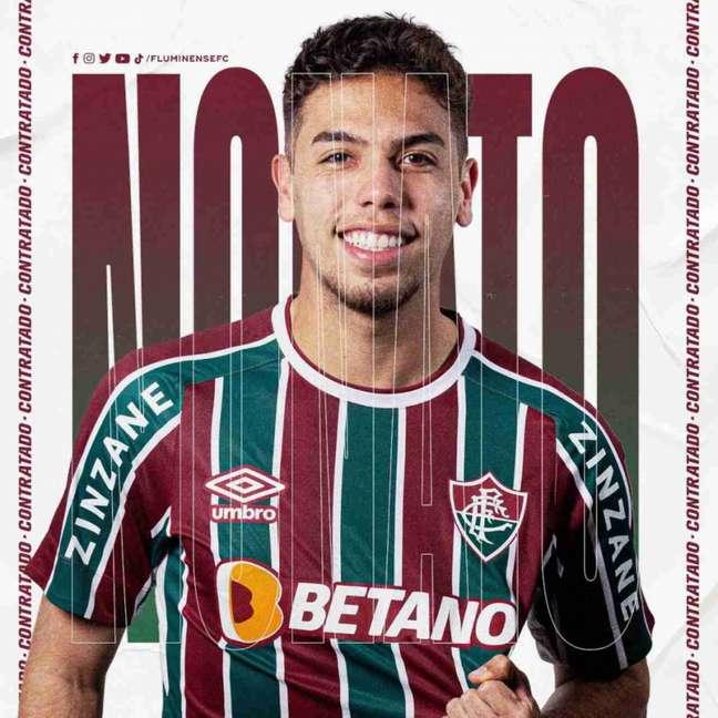 Nonato é reforço do Fluminense para a temporada (Foto: Divulgação/Fluminense)