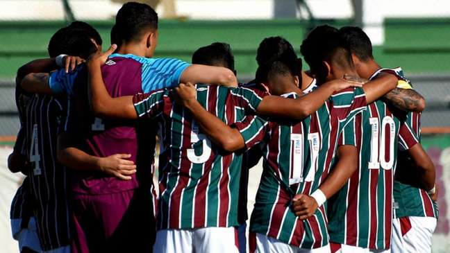 Equipe Sub-23 do Fluminense foi eliminada do Brasileiro de Aspirantes (Foto: Mailson Santana/Fluminense FC)