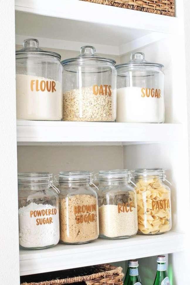 16. Lista de utensilios de cozinha para organizar o ambiente – Foto Pinterest