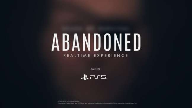 Abandoned pode ser um novo Metal Gear para PS5?