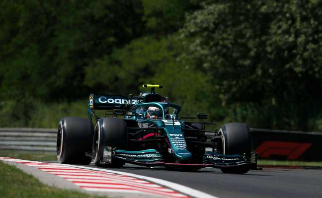 Sebastian Vettel ficou satisfeito com o carro na Hungria, mas quer mais