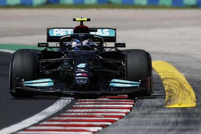 Valtteri Bottas foi o mais rápido desta sexta-feira de treinos em Hungaroring