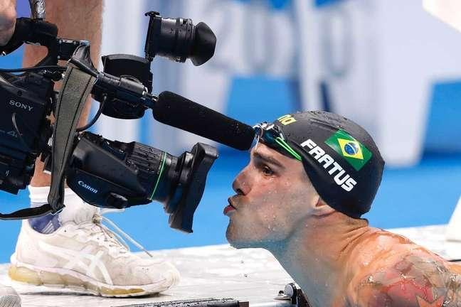 Bruno Fratus é candidato a medalha dos 50m