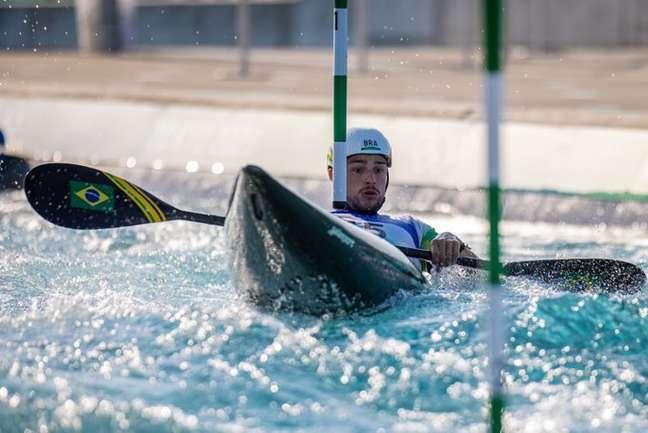 Pepê Gonçalves terminou os Jogos Olímpicos de Tóquio na 19ª colocação nesta sexta-feira Miriam Jeske/COB