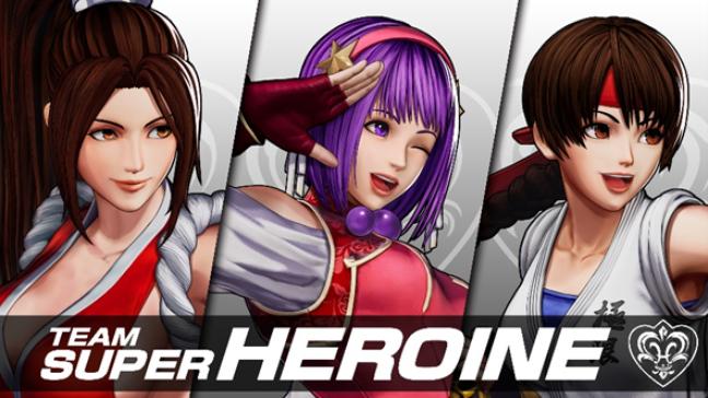 Team Super Heroine - KOF XV