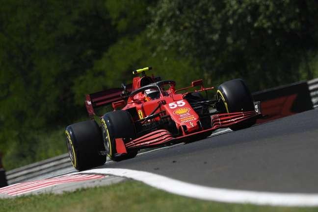 Carlos Sainz vai usar o último dos motores na Hungria, mas não terá punição