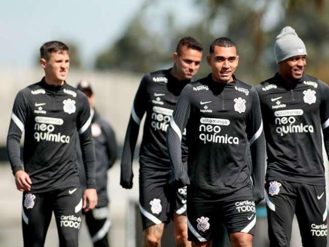 Corinthians divulgou os relacionados para o duelo com o Corinthians (Foto: Rodrigo Coca/Ag. Corinthians)